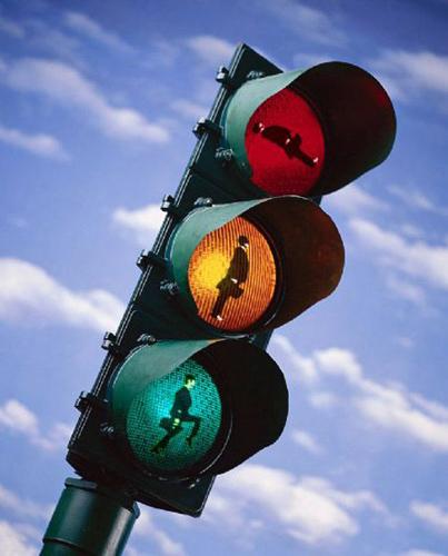 世界各地搞笑的红绿灯集锦 最后一个亮了