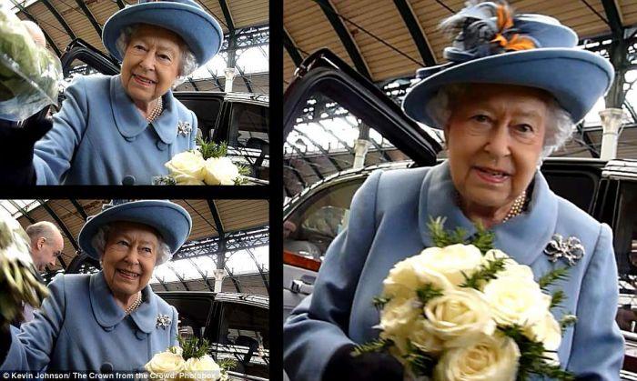 路人镜头下的英国王室 记录百年皇室珍贵瞬间